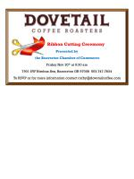 Ribbon Cutting  Ceremony Presented  by  the Beaverton Chamber of Commerce