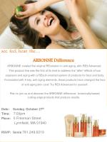 see, feel, hear, the… ARBONNE Difference