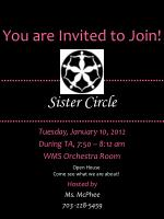 You are Invited to Join!