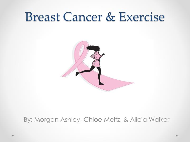 breast cancer exercise n.
