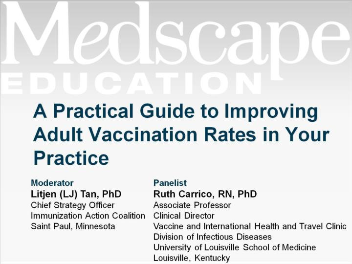 a practical guide to improving adult vaccination rates in your practice n.