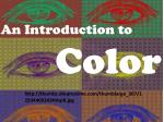 An Introduction to Color