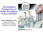 Psychological Perspectives on Public Perceptions of Sea Level Rise