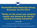 Jeremy Wall European Commission, DG Enterprise and Industry