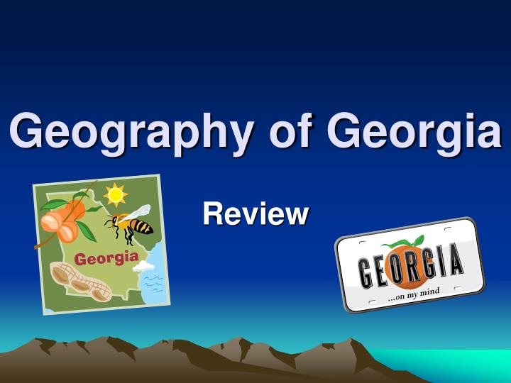 geography of georgia n.