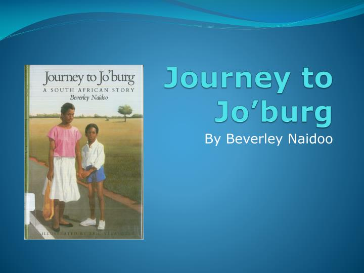 journey to jo burg n.