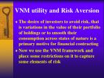 VNM utility and Risk Aversion