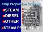 Ship Propulsion Systems