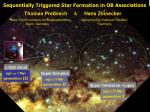 Sequentially Triggered Star Formation in OB Associations