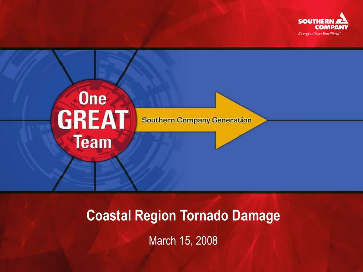 coastal region tornado damage n.