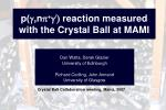 p( g ,n p + g / )  reaction measured with the Crystal Ball at MAMI
