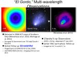"""El Gordo,"" Multi-wavelength Observations"