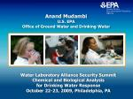 Anand Mudambi U.S. EPA  Office of Ground Water and Drinking Water
