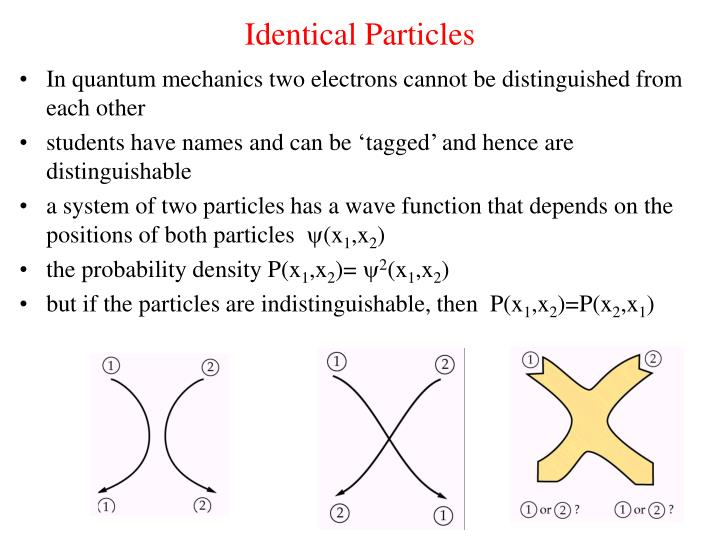identical particles n.
