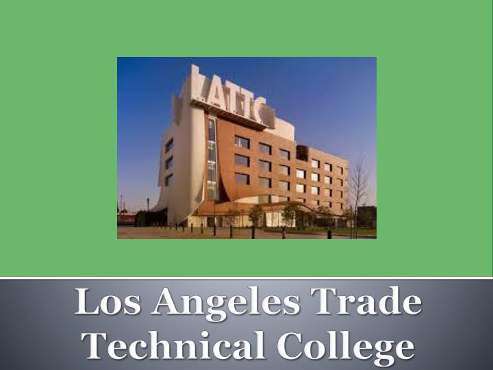 los angeles trade technical college n.