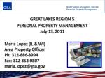 GSA Federal Acquisition Service Personal Property Management