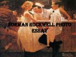 Norman Rockwell Photo Essay