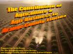 The Contribution of Agriculture & Agri-Business to Orange County, Florida