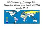 H2OIntensity_Change B1 - Baseline Water use fixed at 2000 levels 2010