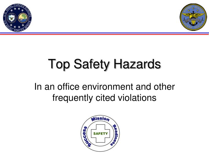 top safety hazards n.
