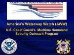 America's Waterway Watch (AWW)