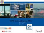 ICAO Medical Briefing 2014
