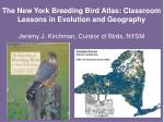 What is the Breeding Bird Atlas?