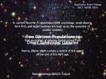 Two Distinct Populations in Dwarf Spheroidal Galaxies
