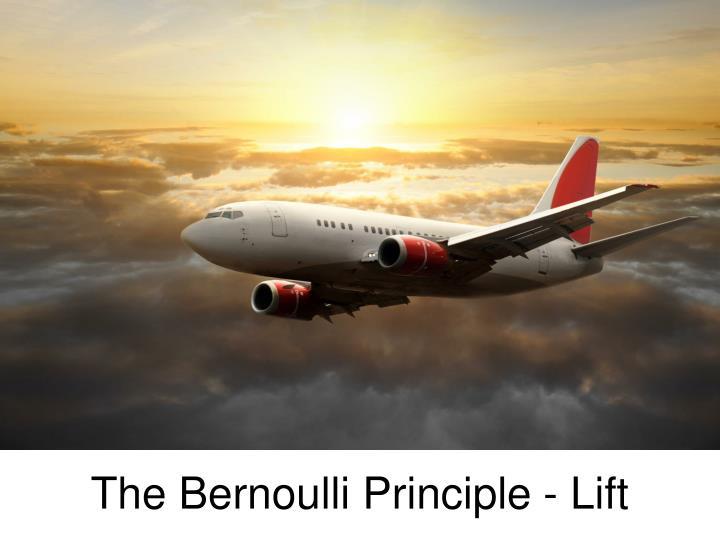 the bernoulli principle lift n.