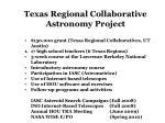 $150,000 grant (Texas Regional Collaboratives, UT Austin)