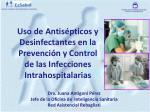 Dra. Juana Antigoni Pérez Jefe de la Oficina de Inteligencia Sanitaria