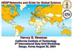 HENP  Networks and Grids for Global Science