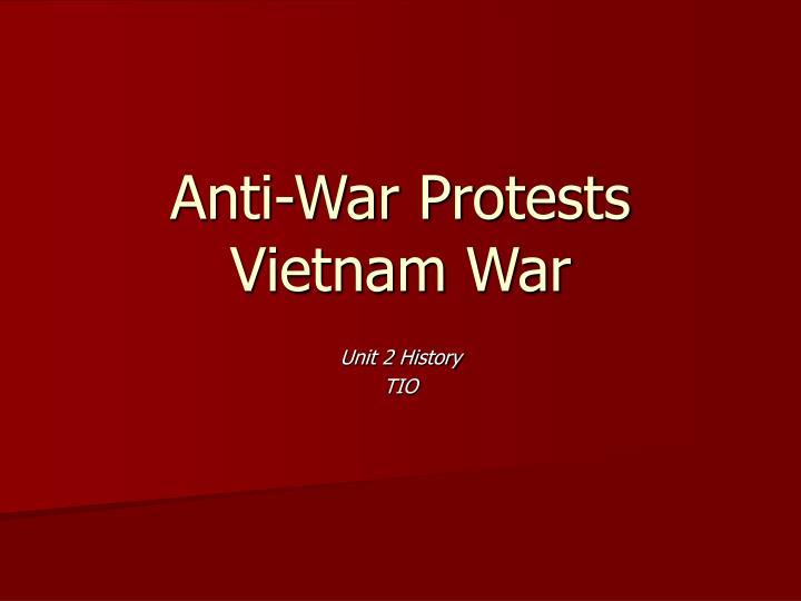 anti war protests vietnam war n.