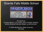 Granite Falls Middle School