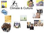 Climate & Culture