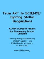 From ART to SCIENCE: Igniting Stellar Imaginations