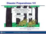 Disaster Preparedness 101