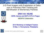 ERIK H.M. HEIJNE CERN, Geneva and IEAP of CTU in Prague MEDIPIX Collaboration