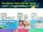 Buy Geftinat Natco 250mg Tablets Online
