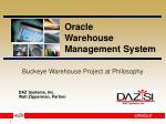 Buckeye Warehouse Project at Philosophy
