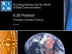 X.25 Protocol