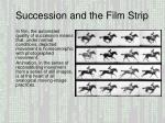 Succession and the Film Strip
