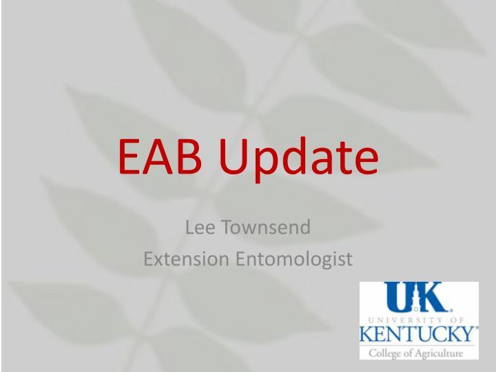 eab update n.