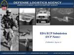 EDA ECP Submission (ECP Name)