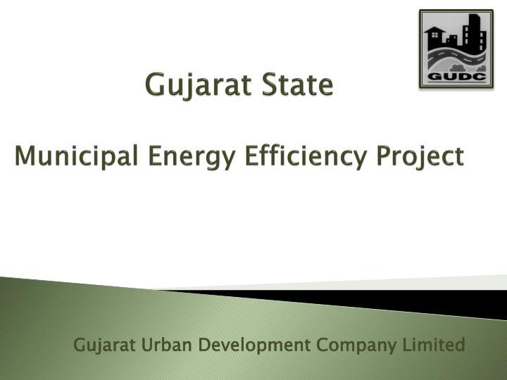 gujarat state municipal energy efficiency project n.