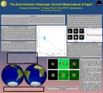 The Event Horizon Telescope: Current Observations of SgrA*