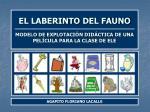 EL LABERINTO DEL FAUNO MODELO DE EXPLOTACIÓN DIDÁCTICA DE UNA PELÍCULA PARA LA CLASE DE ELE