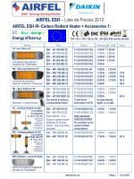 AIRFEL ESH IR–Carbon Radiant Heater + Accessories 1: