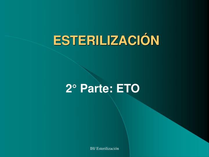 esterilizaci n n.