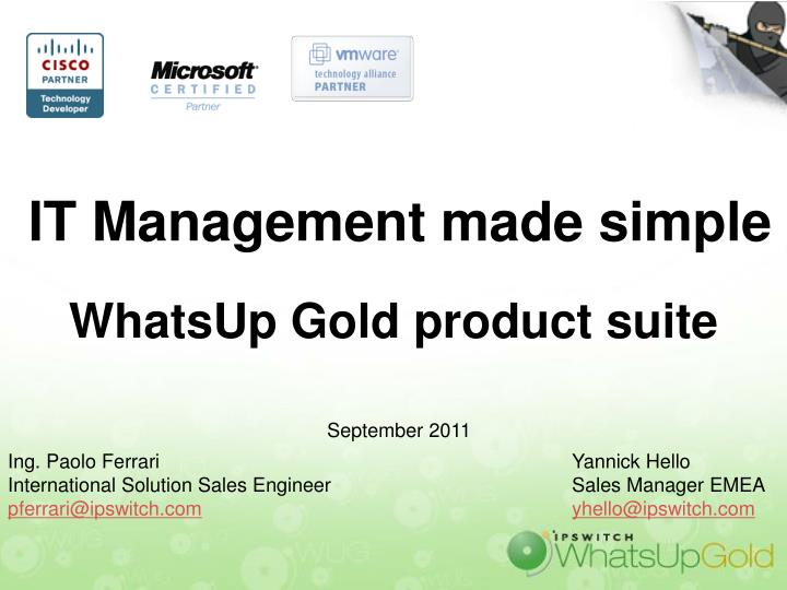 Whatsup gold v16 activation key